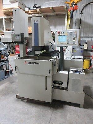 Mitsubishi Cnc Ram Type Edm Sinker Electrical Discharge Machine Ea8 System 3r