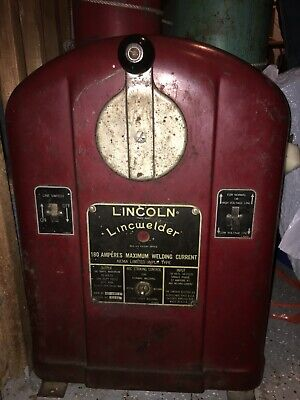 Antique - Lincoln Ac-180c Arc Welder