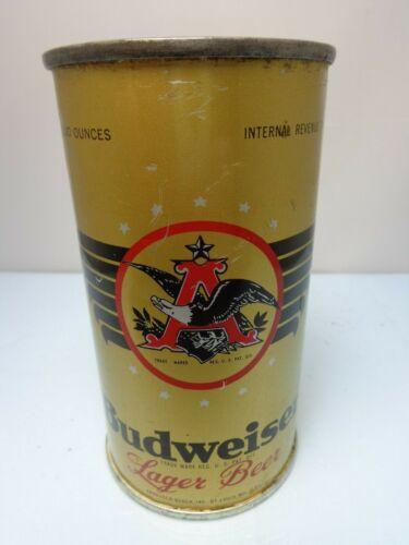 BUDWEISER OI & IRTP FLAT TOP BEER CAN #43-40 ANHEUSER - BUSCH ST. LOUIS MISSOURI