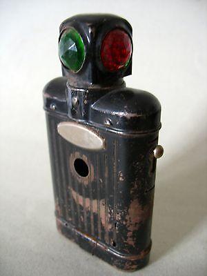 historische Lampe Taschenlampe Signallampe Militaria Eisenbahn um 1939