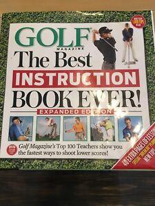 Golf instruction book.