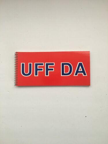 Norwegian Notebook UFF DA  # 1875