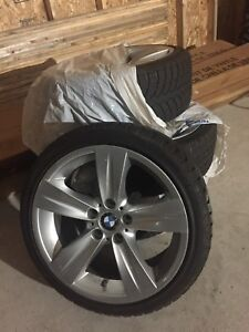 "18"" BMW Rims & winter tires"
