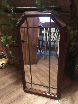 Wooden Leaded Mirror