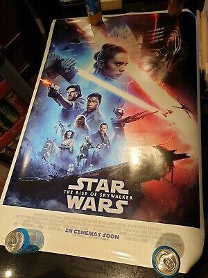 STAR WARS THE RISE OF SKYWALKER 2019 ORIGINAL CINEMA 1 SHEET POSTER