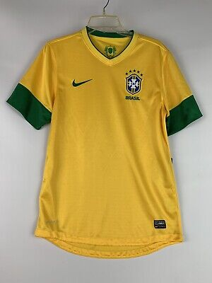 07c385afde4 NWT Nike Authentic Vaporknit Brazil Soccer Jersey Men's AUTHENTIC $85 Large