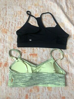 fabletics sports bra Black And Lucy Tech Loy 2 Size XL