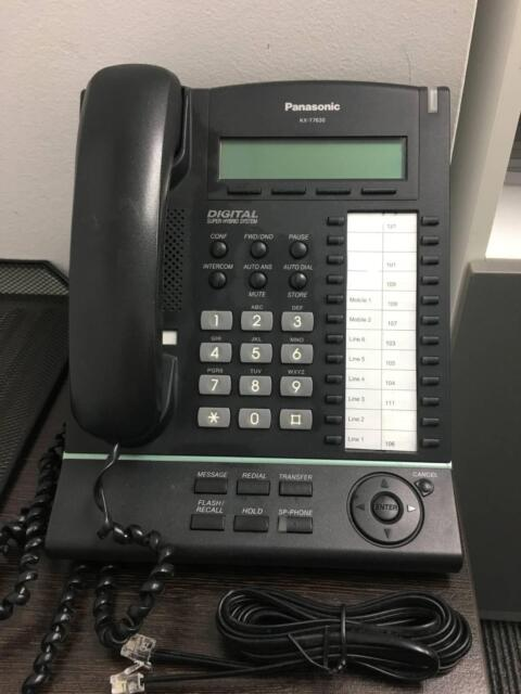 2 X Panasonic Kx T7630 Telephone Other Phones Gumtree Australia