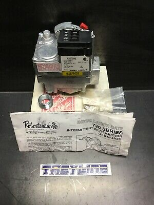 New Robertshaw 720-070 Pilot Ignition Gas Valve 24v 12 X 34 17k-1
