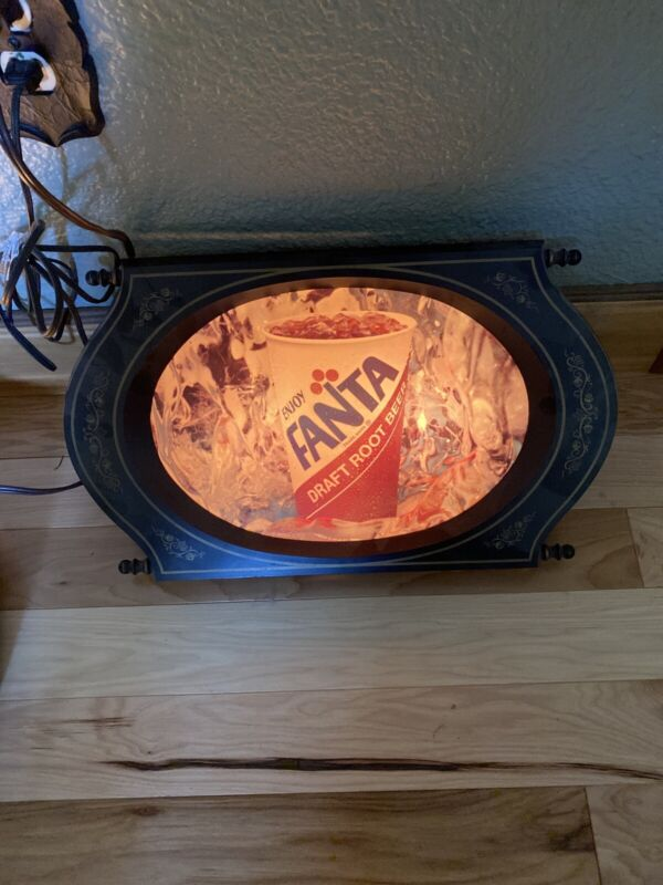 FAYGO ROOT BEER LIGHTED ADVERTISING SIGN