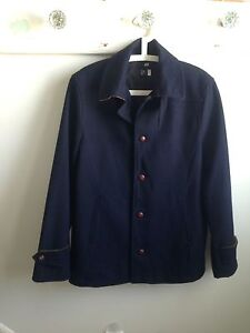 Men's Medium Navy Dress Coat