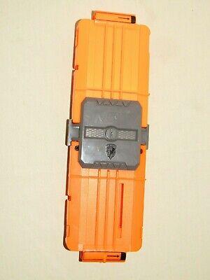NERF FLIP CLIP w/ 2 Orange 6 Dart Ammo Magazine Clips