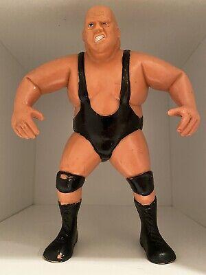 """Vintage 1985 WWF LJN KING KONG BUNDY 8"""" Wrestling Action Figure"""