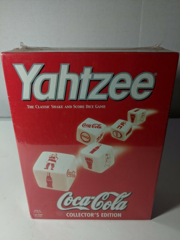 New Yahtzee Coca-Cola Collector