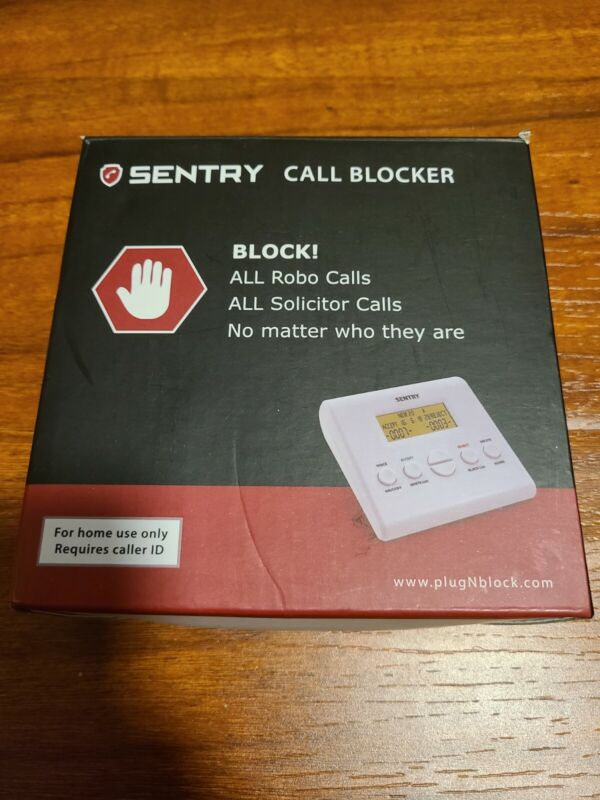 Sentry Call Blocker All Solicitor Robo Dual Mode