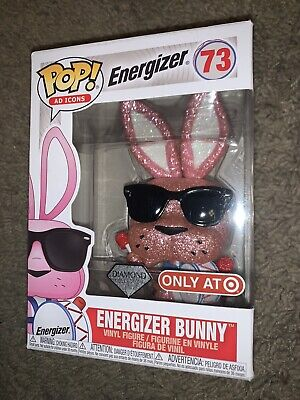 NEW Funko POP! Energizer Bunny Diamond Collection Target Exclusive Ad Icons