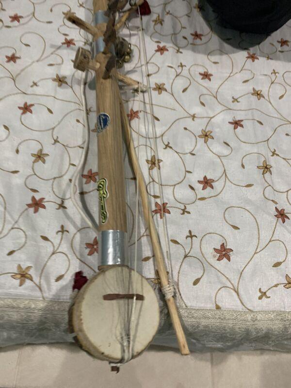 Handmade Custom Ravanhatta Stringed Folk Song Fidel Musical Instrument Rajasthan