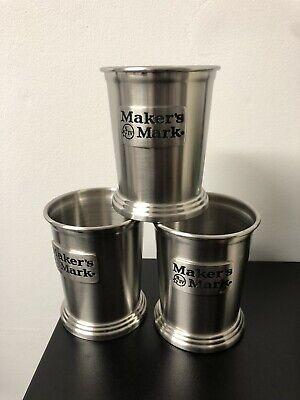 MAKER'S MARK brand new + boxed PEWTER MINT JULEP CUP 12 Available