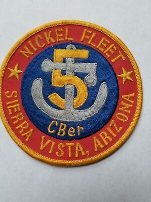 Arizona Nickel Fleet CBer Vintage Patch