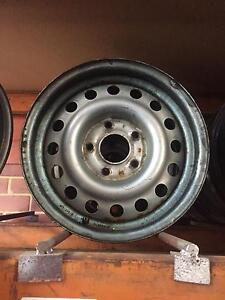 4x commodore pursuit rims, 2 with mickey Thompson slicks Baldivis Rockingham Area Preview