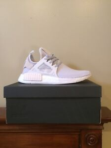 Womens Triple White NMD XR1 Size 10 NEW