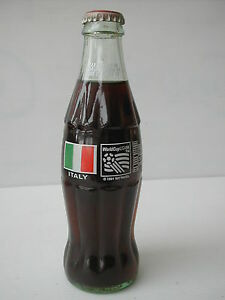 Coca cola usa bouteille verre bottle world cup usa 94 italy 1993 ebay - Verre coca cola luminarc ...
