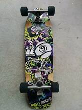 USED 29' Sector 9 Complete Mini-Series Skateboard (2011) Clayton Monash Area Preview
