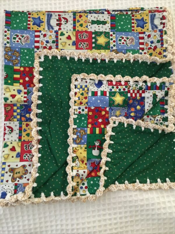 Christmas Baby Blanket      free shipping
