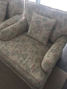 Moran fully upholstered lounge chairs x2 Sandy Bay Hobart City Preview