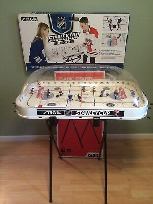 St Louis BLUES Table HOCKEY Game BUBBLE Dome ADJUSTABLE Stand HAND PAINTED Teams