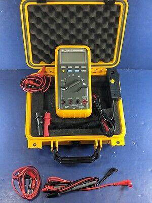Fluke 88 Automotive Meter Screen Protector Hard Case Excellent