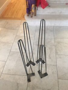 Hairpin legs to make your own table