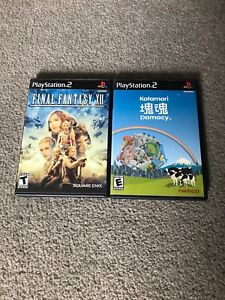 Final Fantasy XII and Katamari Damacy PS2