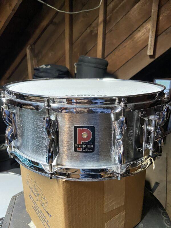 Vintage Premier Aluminum Snare Drum