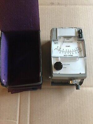Amprobe Amc-3 Hand-cranked Insulation Tester 500 Megaohms 1000 V