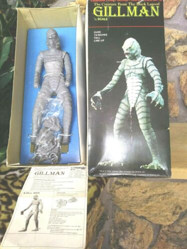 TSUKUDA CREATURE FROM THE BLACK LAGOON, GILLMAN JUMBO FIGURE KIT 1982, 1:5, MIB