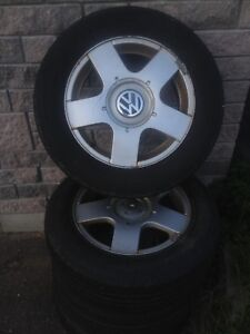 VW Alloy Rims