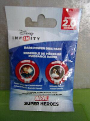Disney Infinity 2.0 - Power Disc Pack - Marvel Super Heroes (2 Stück) - Neu (Marvels Power Disc)