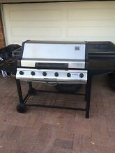 BBQ 6 burner with stainless hood and cover Mount Gravatt East Brisbane South East Preview