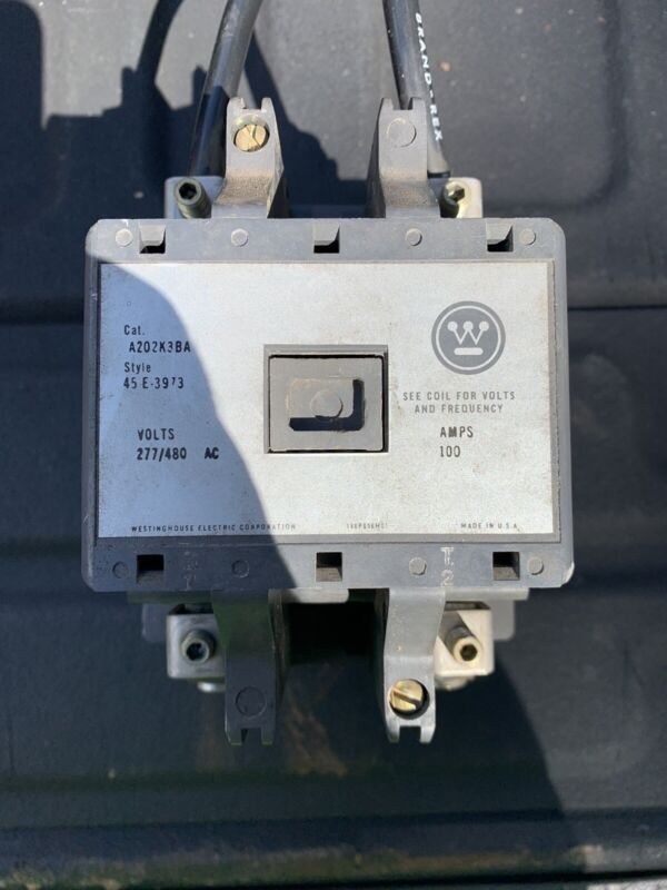 Westinghouse A202K3BA 100amp Lighting Contactor