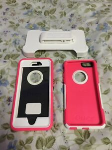 Pink/White Otterboxes