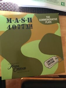 M A S H collector plate