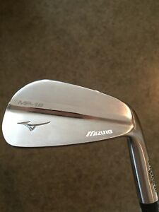 Mizuno MP-18 irons, MMC Fli-Hi 2 iron, S18 wedges