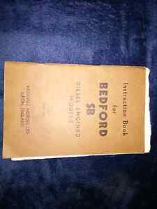 Instruction Book for Bedford SB Diesel Engined Models. 1962 Rowville Knox Area Preview