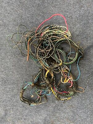 Porsche 356 Wiring Harness MOSTLY COMPLETE