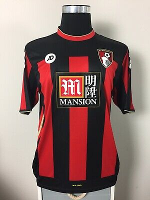 Bournemouth Home Football Shirt Jersey 2015/16 (L) image