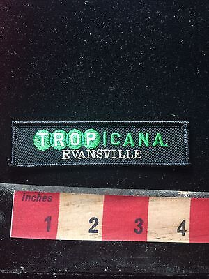 TROPICANA EVANSVILLE INDIANA RIVERBOAT CASINO Advertising Patch 78F2