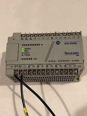 Allen Bradley 1761 L16awa Micrologix 1000 Ser E. Tested