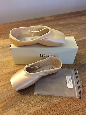 Bloch Synergy Pointe Shoes  2 5 Yyy  3 4 Shank  Pink  S0101l