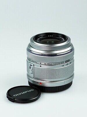 Olympus  M.Zuiko Digital 14-42 mm f.3,5-5,6II R silber Gebraucht vom Fachhändler